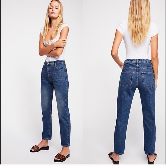 We The Free Denim - Free people mom jeans
